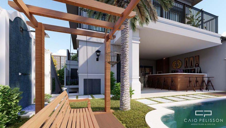 projeto-sobrado-triplex-garagem-subsolo-estilo-neoclassico-sorocaba-golden-12x30-porta-preta-lazer