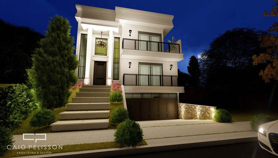 projeto-sobrado-triplex-garagem-subsolo-estilo-neoclassico-sorocaba-golden-12x30-fachada
