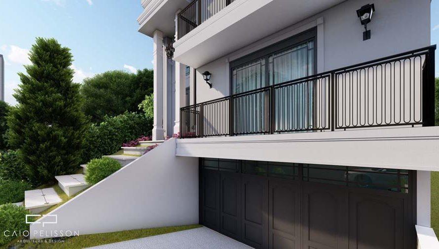 projeto-sobrado-triplex-garagem-subsolo-estilo-neoclassico-sorocaba-golden-12x30-lateral