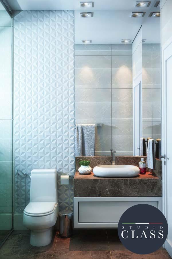 projeto de design de interiores em sobrado triplex neoclássico Sorocaba