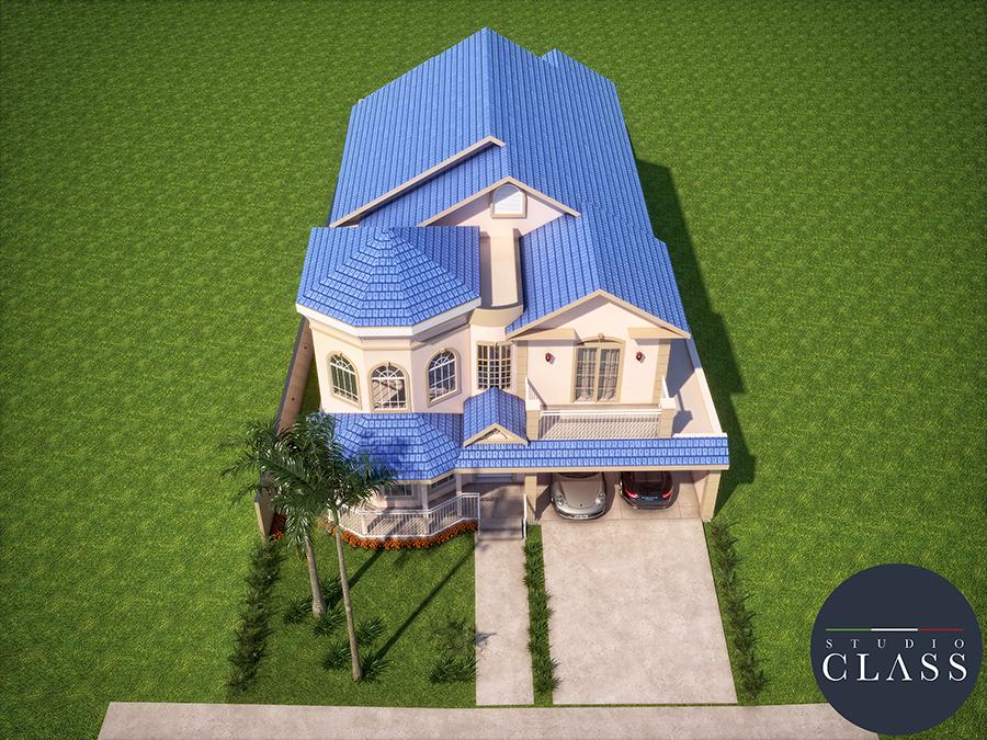 Projeto casa 18x35 no condomínio Greville em Limeira