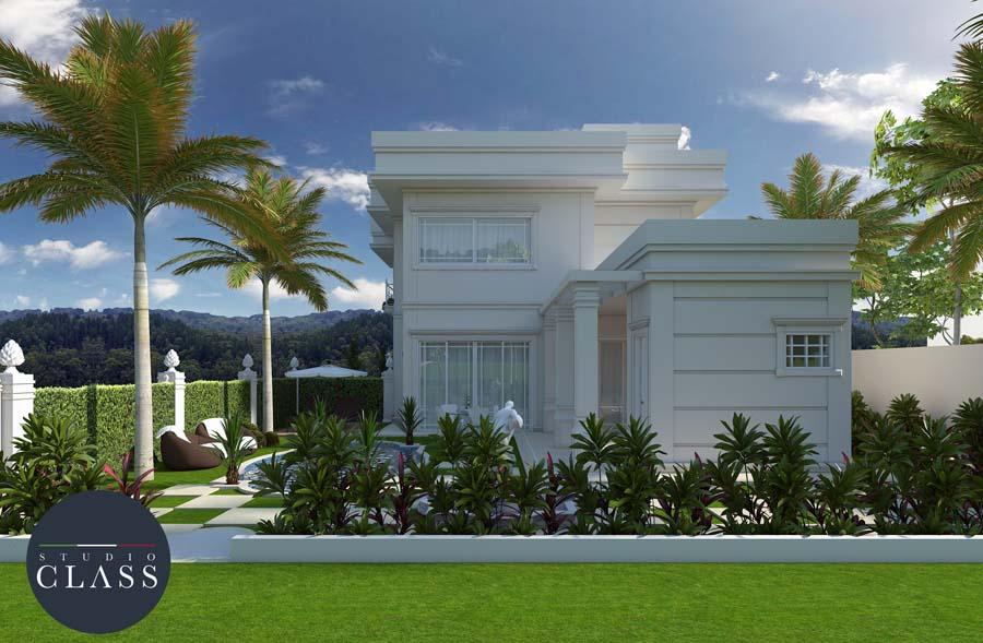 Projeto de sobrado duplex condomínio Bellagio Campinas