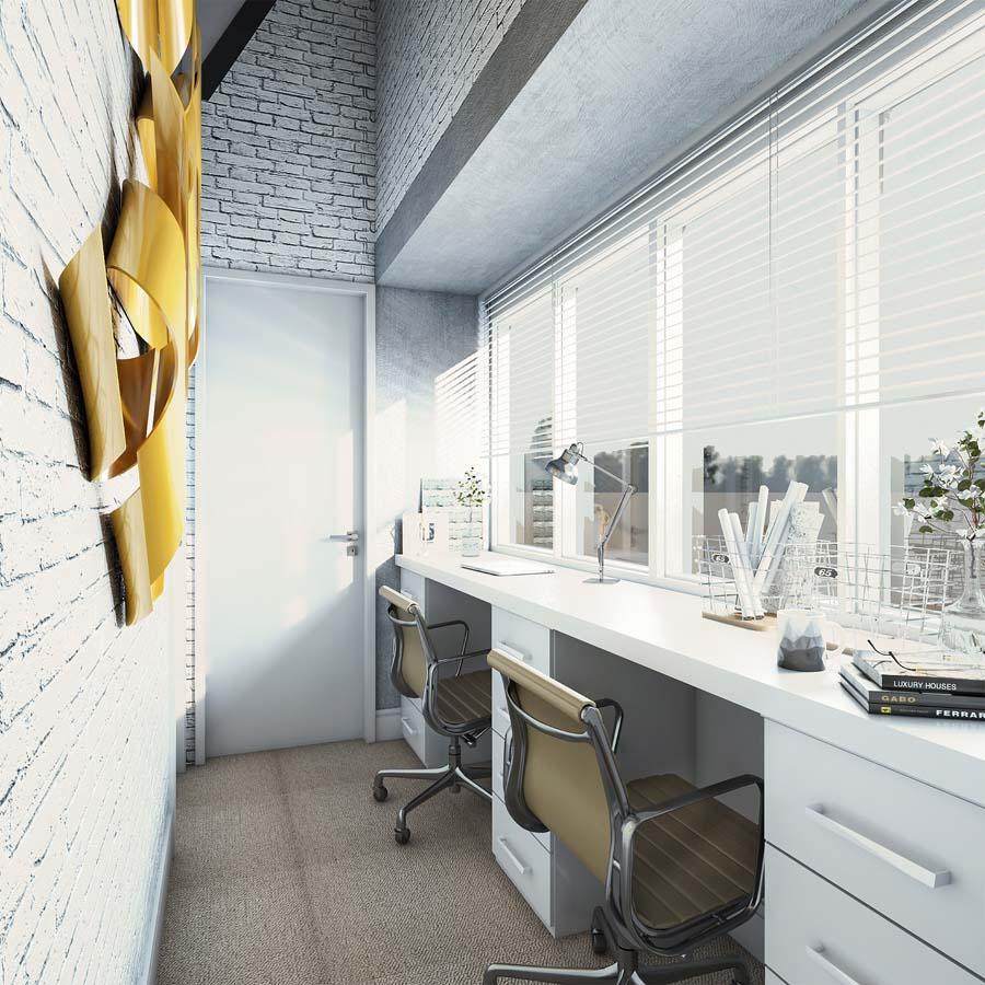 Design de interiores em ambientes modernos