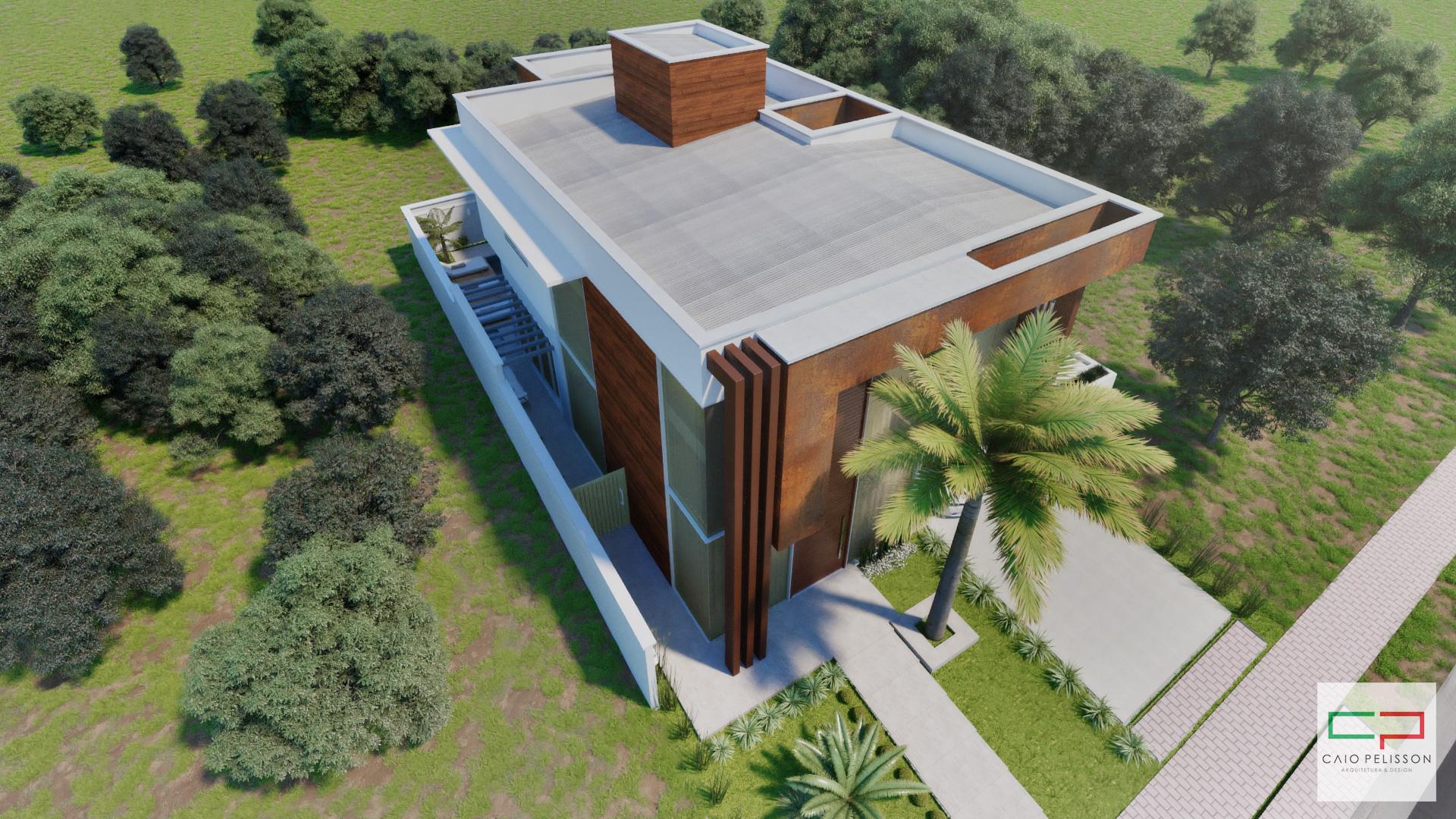 Projeto casa 10x25 condomínio Fazenda itapema 1 em Limeira