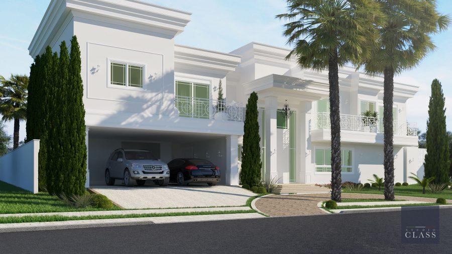 Projeto casa 12x30 Portal Colina em Americana
