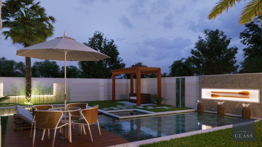 Construir sobrado duplex neoclássico no condomínio Ville de France em Limeira