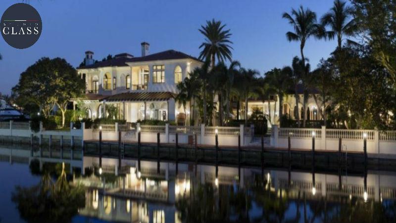 Projeto sobrado duplex clássico americano estilo Boca Raton em Miami