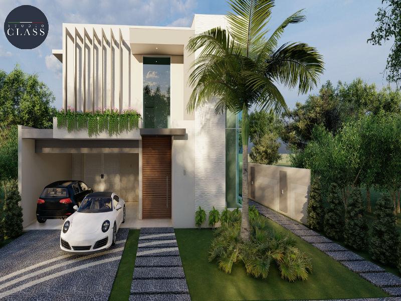 Projeto sobrado duplex moderno em Minas Gerais