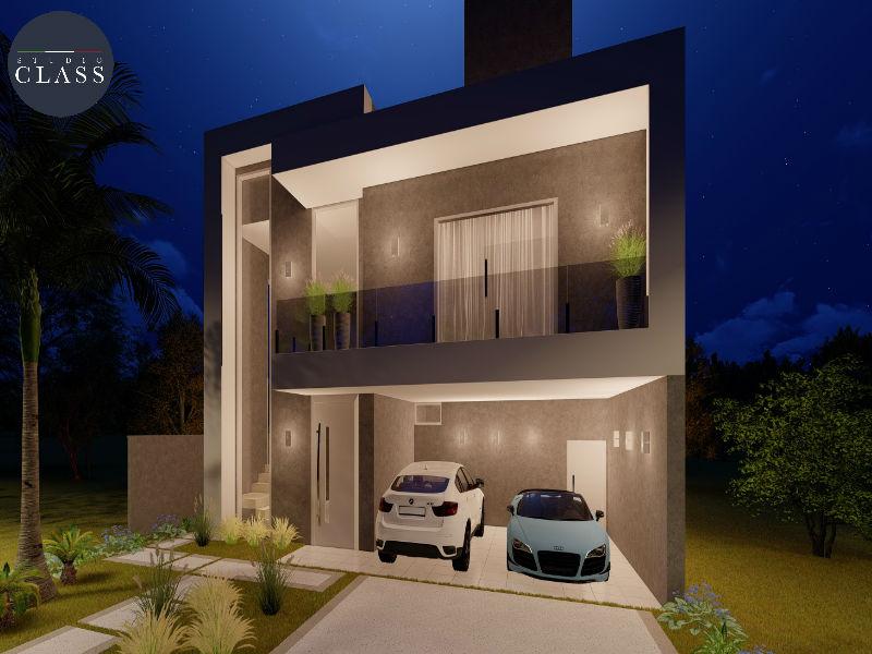 Projeto sobrado duplex moderno em Mogi Guaçu