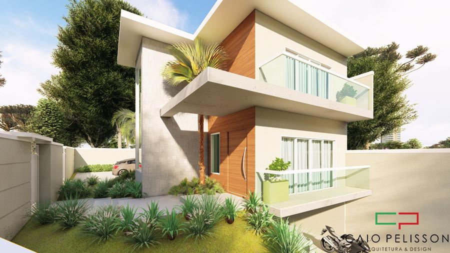 projeto sobrado duplex no condomínio Roland em Limeira