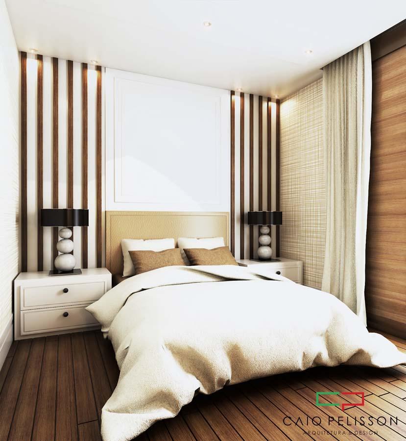 Decoração interiores no condomínio Shangrila em Campinas