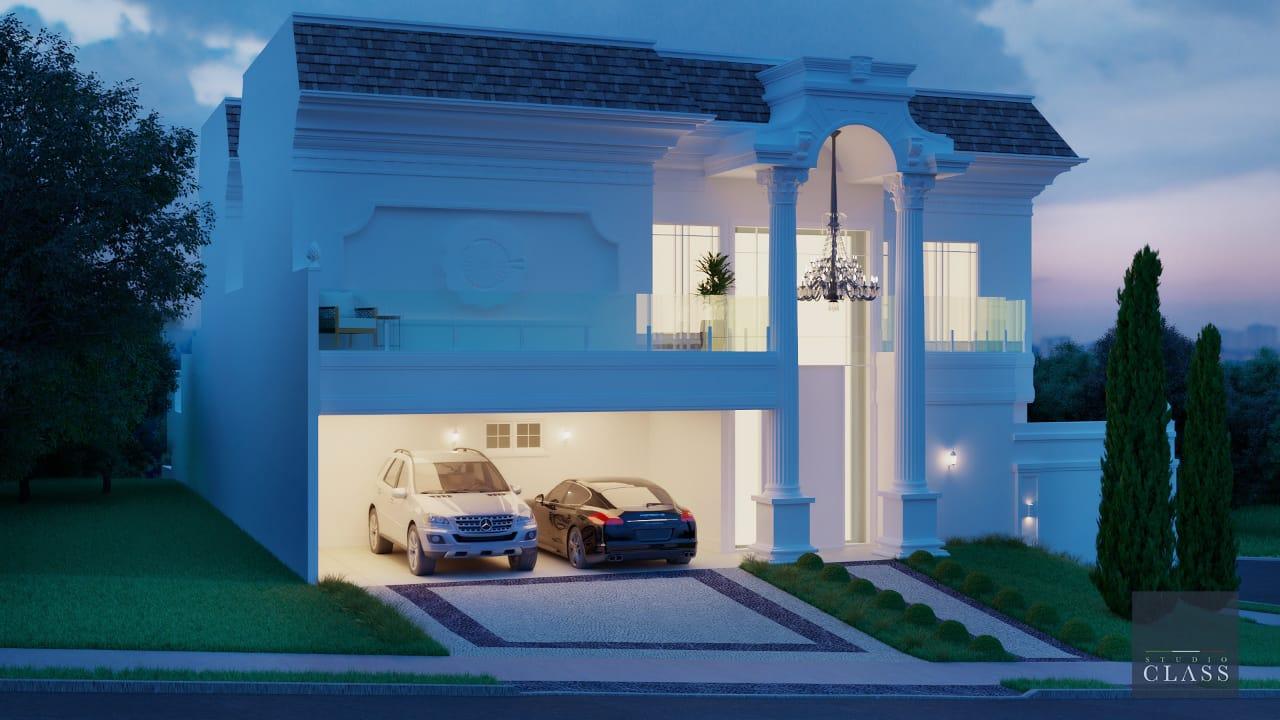 projeto sobrado duplex casa esquina estilo neoclassico swiss park