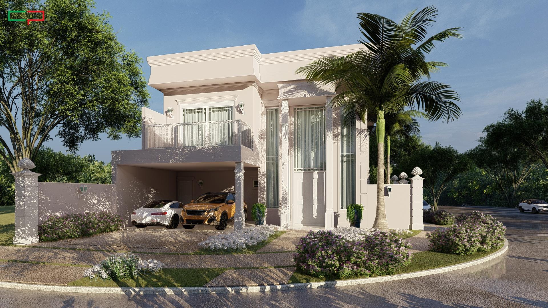 Projeto casa 10x30 condomínio Roland 2 em Limeira