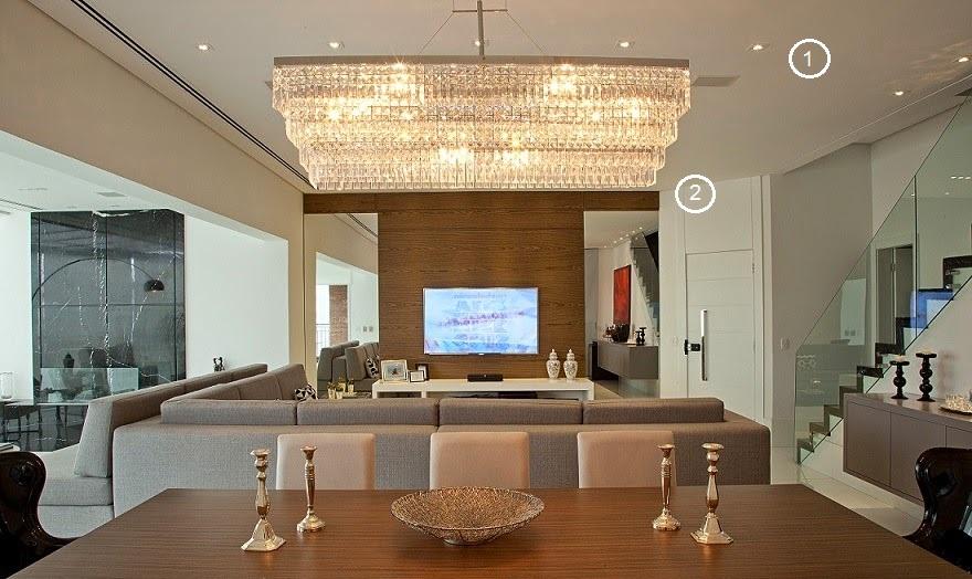 Como iluminar a sala de jantar de acordo com o estilo do ambiente