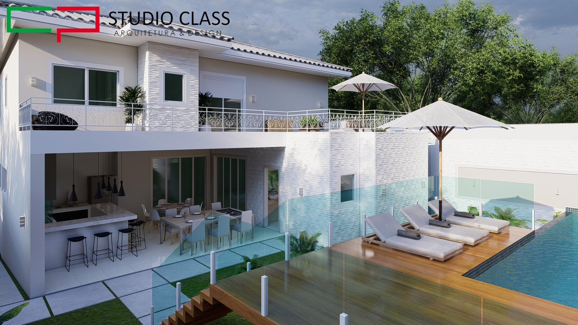 casa rustica tradiciona classica terreno aclive fundo alto