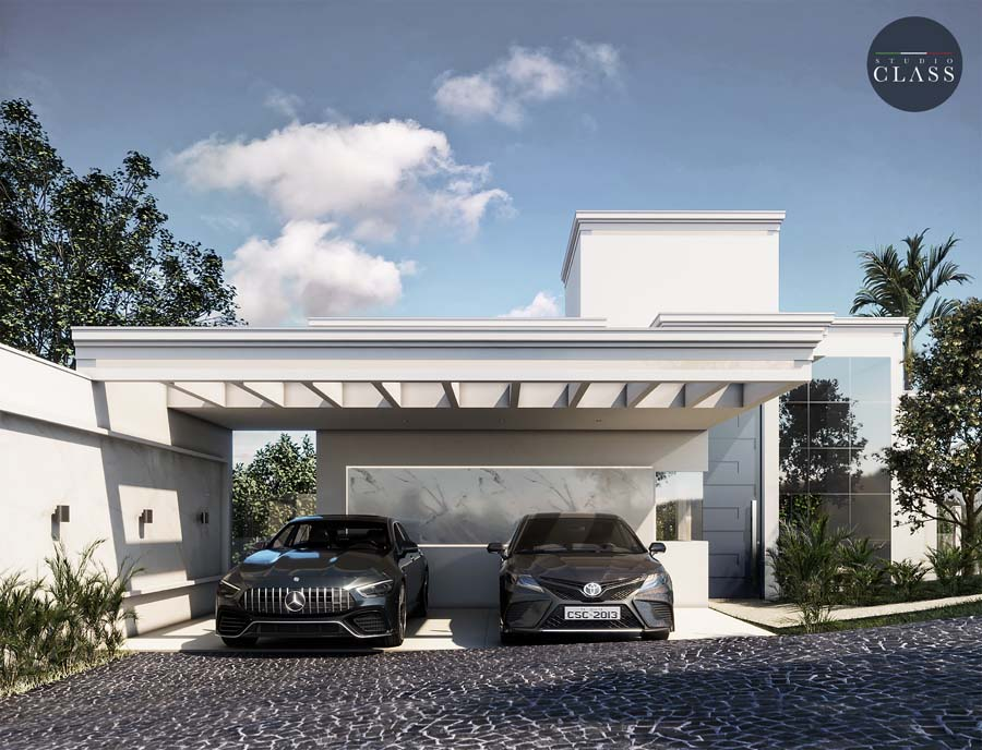 casa terrea estilo neoclassico com detalhes modernos vidro grande terreno desnivel vinhedo arboretum (1)