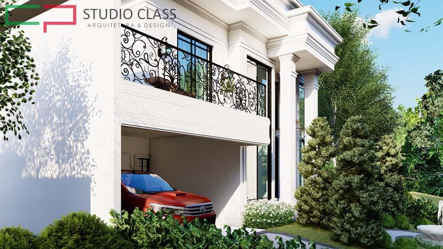 projeto sobrado estilo tradicional classico moderno sem telhado indaiatuba sp